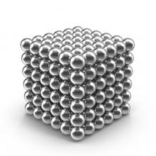 Конструктор-головоломка TOPA Neocube 216 шариков Silver