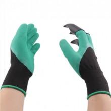Садовые перчатки с когтями Garden TOPA Gloves