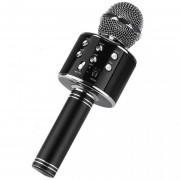 Беспроводной портативный микрофон для караоке Wster WS858 Black